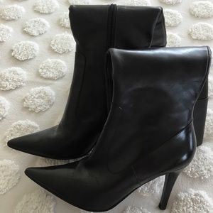Lauren tall dark brown 3.5 heel boots. 6M